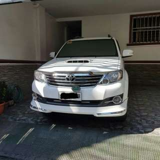 Toyota Fortuner 2014 (NEGOTIABLE PRICE)