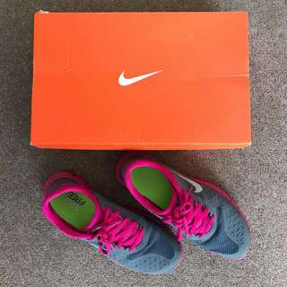 Nike Free 4.0 V2 - Dark grey reflect silver