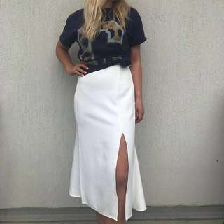 THE FIFTH LABEL JUST FOR NOW SKIRT WHITE 10