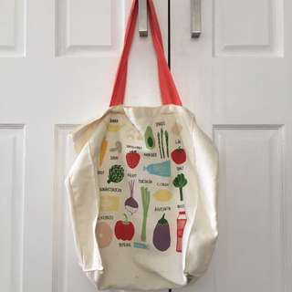 Kikki K Canvas Tote Bag