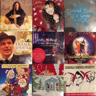 Christmas: One month to go so make sure you have your Christmas CDS