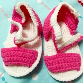 (PO) Crochet baby shoes, sandals
