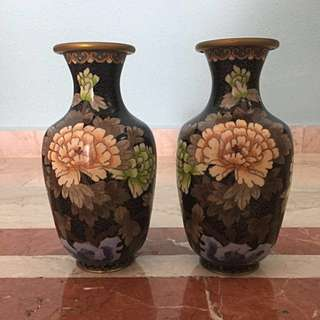Pair Of Antique Vase
