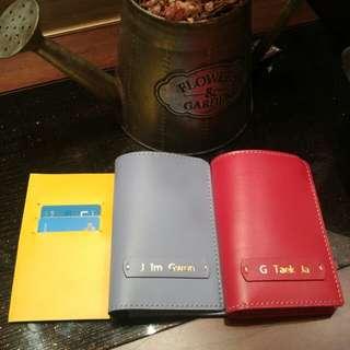 수제 여권케이스