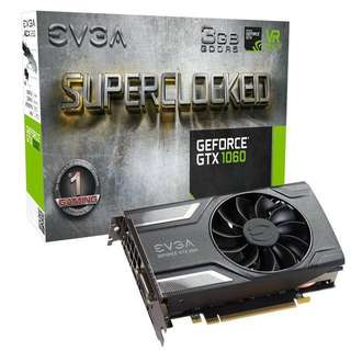 EVGA GeForce GTX 1060 Superclocked Edition ACX 2.0 SC