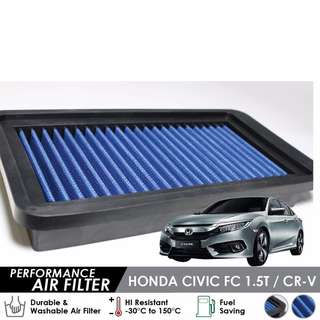 Works Engineering Air Filter - Honda Civic FC & CRV 1.5 Turbo (MAIN DISTRIBUTOR)