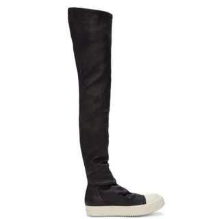 👾現貨Rick Owens 膝上靴