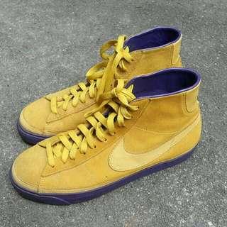 二手 美品 Nba 復古 Nike 湖人 SB Kobe 紫黃 Blazer 古著 Vintage