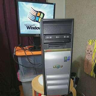 HP Compaq D510cmt Workstation Pentium 4 Windows 98 Computer Full Set @ 442 Yishun Avenue 11 Singapore 760442