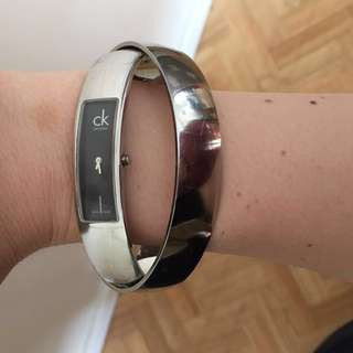 Calvin Klein bangle watch