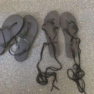 Black Sandals Havianas Siren