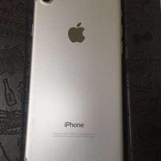 iPhone 7 256gb 銀色 full set