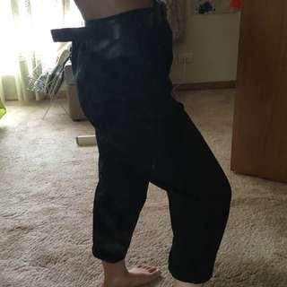 Petite Black Chino Pants