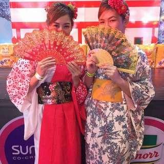 Japanese costume (Kimono)