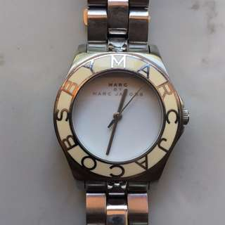 Marc Jacobs stainless steel watch  MBM3048