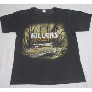 The Killers Band T-shirt NOT OFFICIAL AND FADED