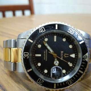 Original Bulova professional diver watch