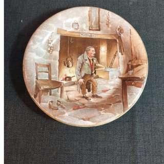 英國老瓷盤