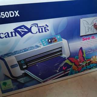 [50% off Retail Price] Scan and Cut from Home - Brother CM550DX