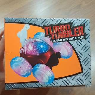 New Turbo Tumbler Stunt Car, Unopened Box