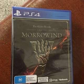 Elder scrolls morrowind brand new unopened