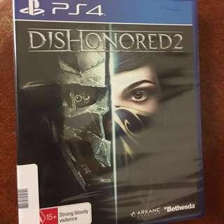 Dishonored 2 unopened brand new