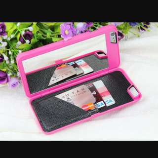 **Reduced**Pink Mirror Case For iPhone 6 Plus
