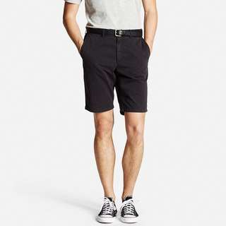 Uniqlo Black Chino Short