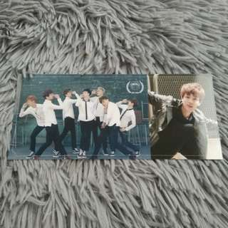BTS Skool Luv Affair - Jin Photocard