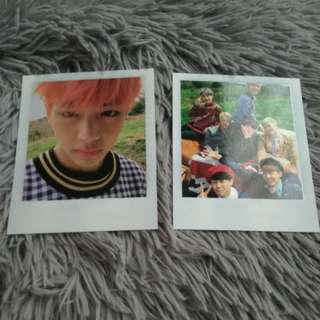 BTS Young Forever - Group / V Photocard