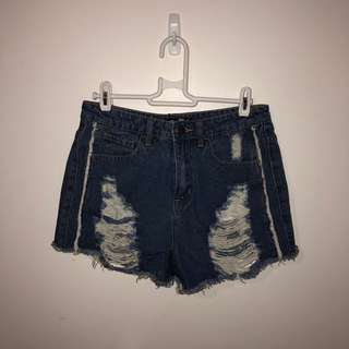 Boohoo High Rise Mum Shorts