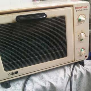 Giving away free oven. Temperature adjustable.