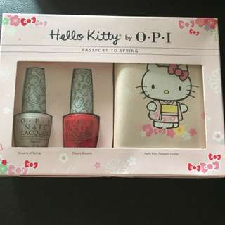 BNIB Hello Kitty OPI Set
