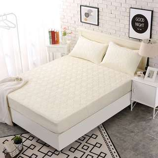 Quilted Fitted Mattress Protector (Queen Size)