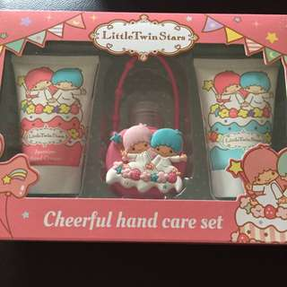 BNIB Little Twin Stars hand care Set