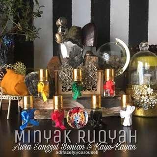 Minyak Ruqyah Aura : Sanggul Bunian & Kayu-Kayan (Mystique Force 😁 : Compilation of Adifazely's Aura Oil)