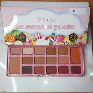 Beauty Creations The Sweetest Palette #2