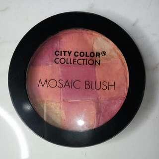 City Color Mosaic Blush - Coral Glow