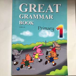 Primary 1 Great Grammar Book
