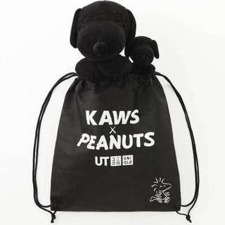 kaws x peanuts Snoopy (小) uniqlo