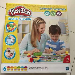 Play-Doh Shape & Learn +2
