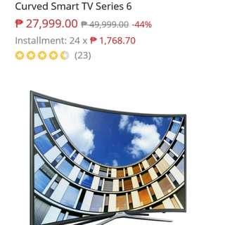 """Samsung 49"""" UA49M6300AGXXP FHD Curved Smart TV Series 6"""