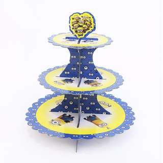 3 Tier cake stand - Minion