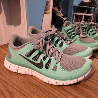 Nike Free Runs- Tiffany Blue