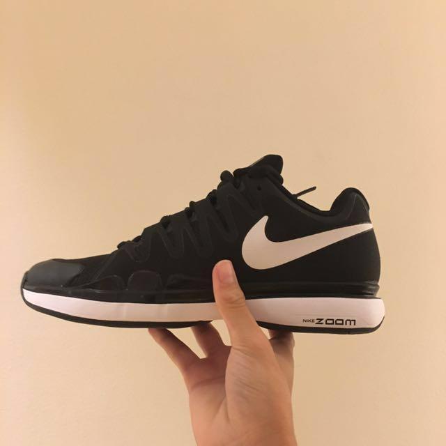 6efd64657 130$) Nikecourt Zoom Vapor Tour (BLACK/WHITE), Men's Fashion ...
