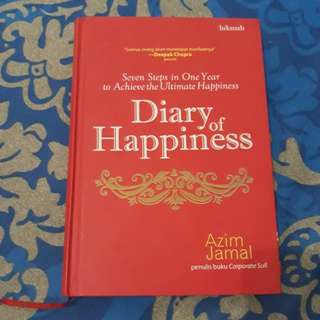 Buku Diary of Happiness