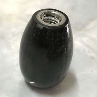 Carbon knob for manual gear