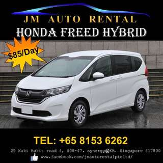 Honda Freed Hybrid for Rent / Lease to own