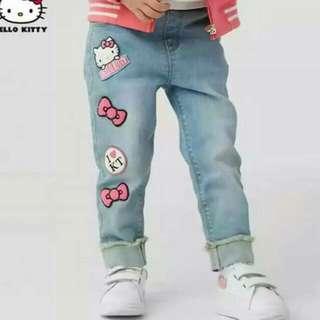 Hello Kitty Denim Pants