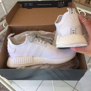 NMD R1 triple White Mesh US6.5